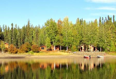 Frances Lake Wilderness Lodge - Yukon