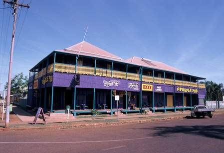 Normanton's Purple Pub