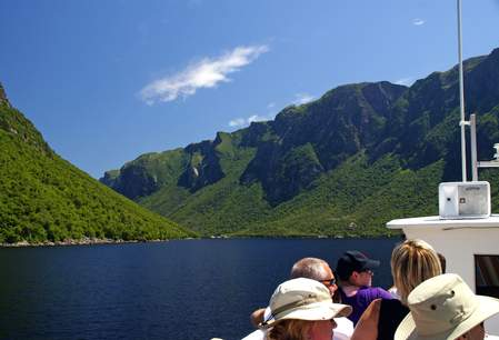Western Brook Pond Fjord Cruise, Gros Morne National Park