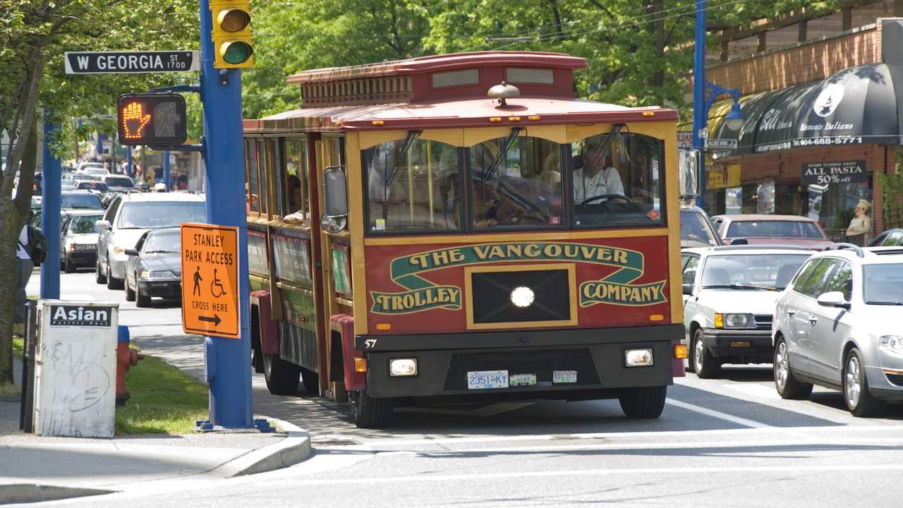 Vancouver Trolley Tour