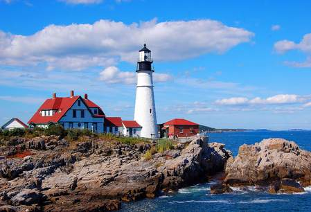 Portland Head Light, Dark Faerie Designs