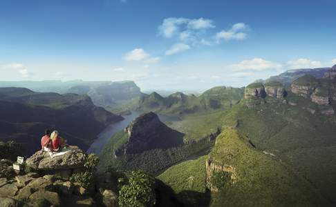 Drie Rondavels, Panorama Route, Zuid-Afrika